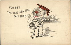 You Bet The Old Sea Dog Can Bite