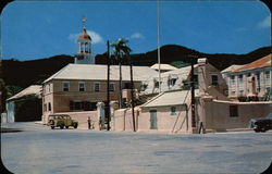 Christiansted Square and Post Office Building