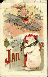 A Greeting Of Jan. 1St