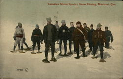 Canadian Winter Sports, Snow Shoeing