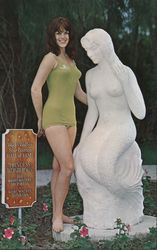 "A Weeki Wachee Mermaid with ""Princes Wonderous"""