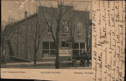 210 Commercial Street - Alliger Block, City Laundry Wagon
