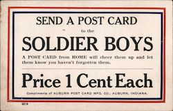Send a Post Card to the Soldier Boys