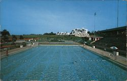 Swimming Pool and Tennis Courts at Recinto Universitario de Mayaguez, Puerto Rico