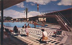 The Sands, pool, diving boards
