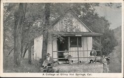 A Cottage at Gilroy Hot Springs, Cal.