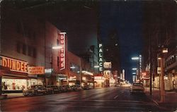 Elm Street at Night