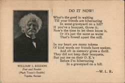 William L. Rigdon, Poet