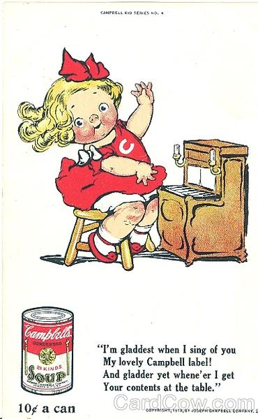 Campbell's Soup Kid #21 Advertising