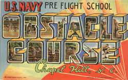 US Navy Preflight School Obstacle Course 3B-H484