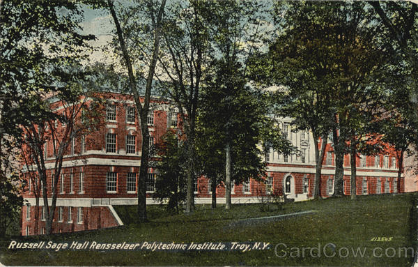 Russell Sage Hall Rensselaer Polytechnic Institute Troy New York