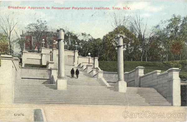 Broadway Approach To Rensselaer Polytechnic Institute Troy New York