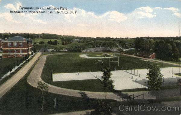 Gymnasium and Athletic Field Troy New York Athletic Field & Gym