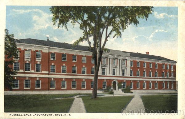 Russell Sage Laboratory Troy New York