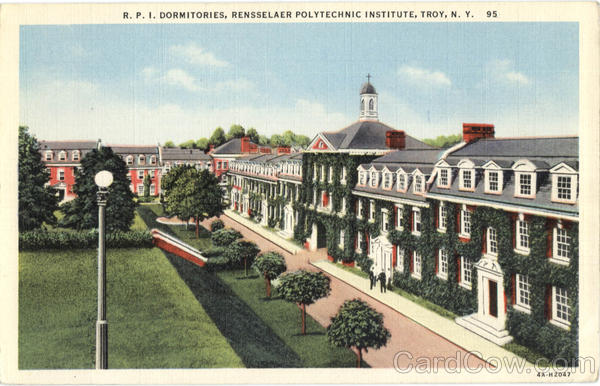 R.P.I Dormitories Troy New York