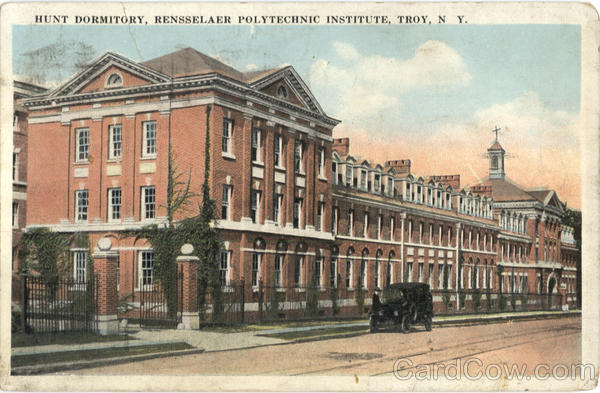 Hunt Dormitory Troy New York Dormitories