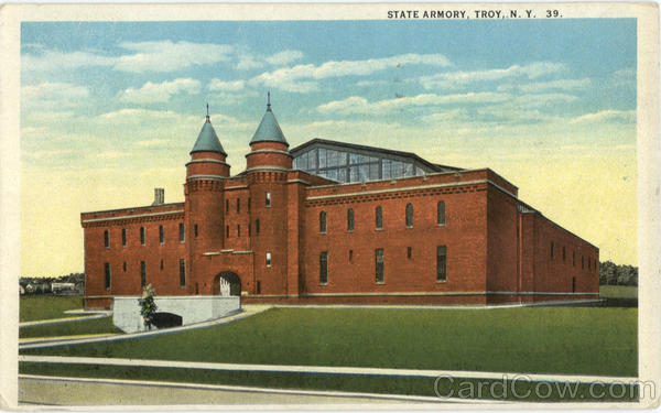 State Armory Troy New York Athletic Field & Gym