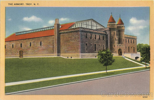 The Armory Troy New York Athletic Field & Gym