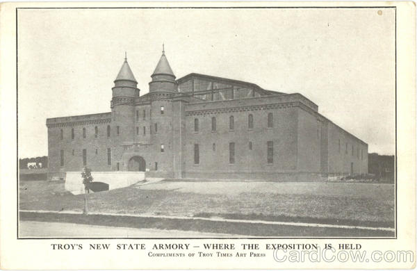 Troy's New State Armory New York Athletic Field & Gym