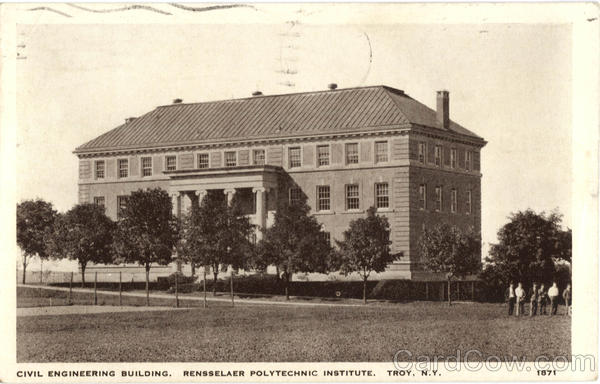 Civil Engineering Building Troy New York
