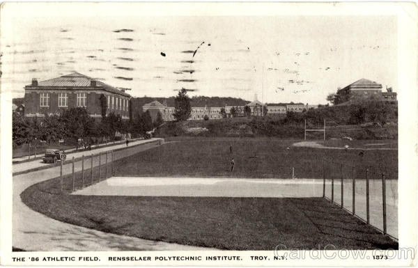 Rensselaer Polytechnic Institute, The 86 Athletic Field Troy New York