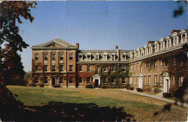 View of the Quad Troy New York Dormitories