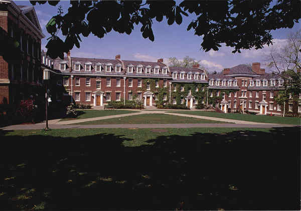 The Quadrangle Dormitories Troy New York