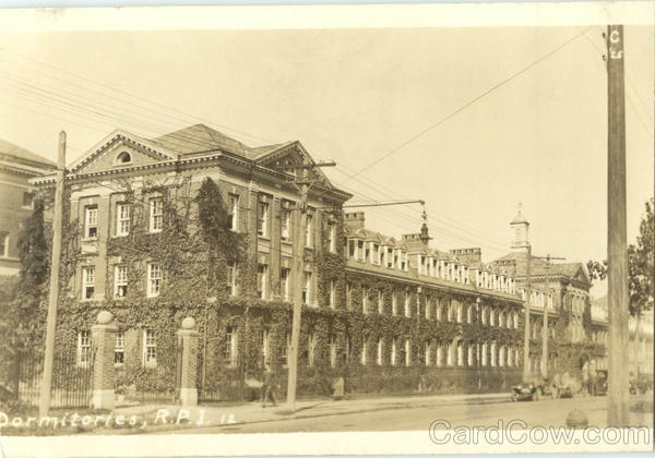 Dormitories R.P.I. Troy New York