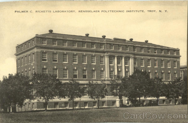 Palmer C. Ricketts Laboratory Troy New York