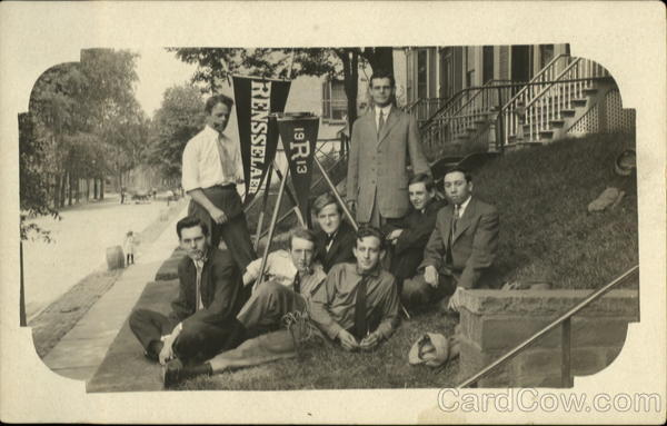 1913 Group of Rensselaer Students Topical