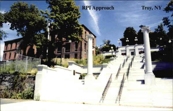 RPI College Troy NY http://www.cardcow.com/287960/rpi-approach-troy-new-york/