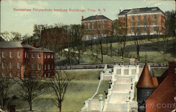 RPI College Troy NY http://www.cardcow.com/396898/rensselaer-polytechnic-institute-troy-new-york/