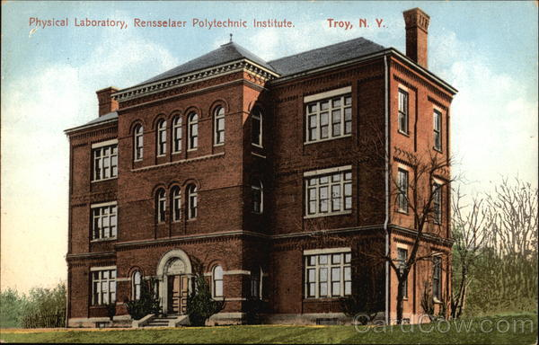 Rensselaer Polytechnic Institute - Physical Laboratory Troy New York