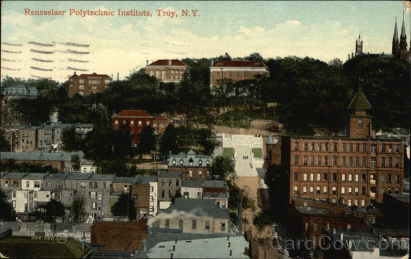 RPI College Troy NY http://www.cardcow.com/396921/rensselaer-polytechnic-institute-troy-new-york/