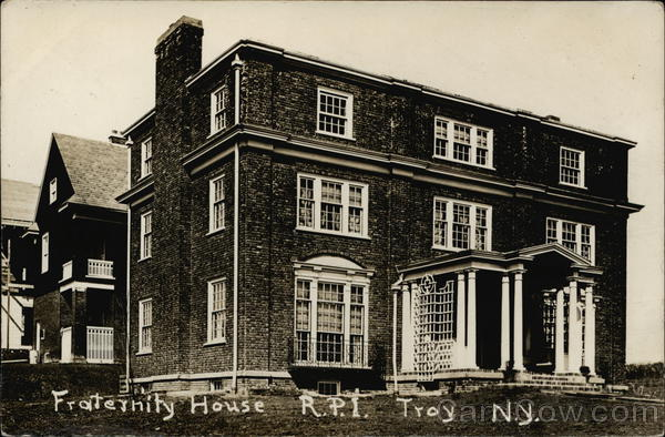 RPI Chi Phi Fraternity House, 15th Street Troy New York