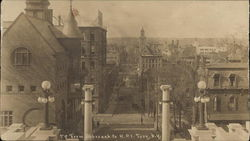 View from Approach to Rensselaer Polytechnic Institute Postcard