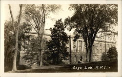 Sage Lab, Rensselaer Polytechnic Institute Postcard