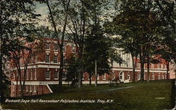 Russell Sage Hall, Rensselaer Polytechnic Institute Postcard