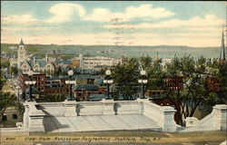 View from Rensselaer Polytechnic Institute Postcard