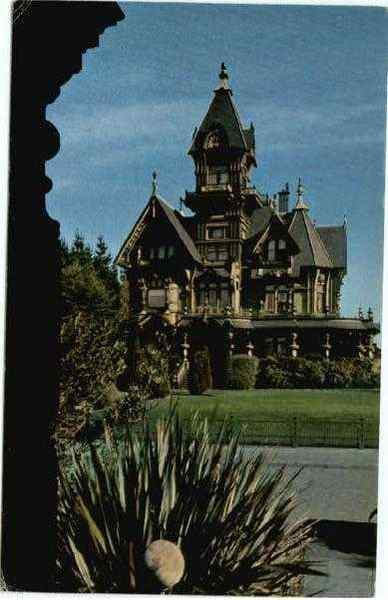 Carson Mansion Eureka California