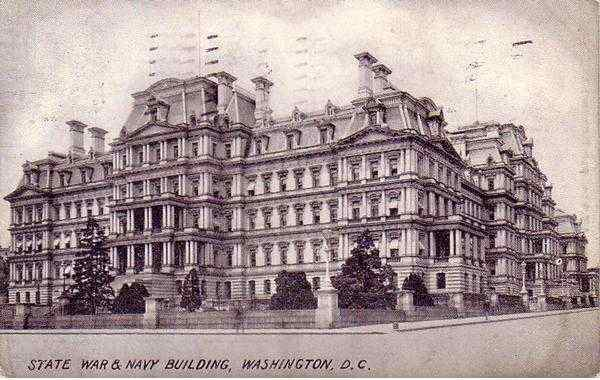 State War & Navy Building Washington District of Columbia