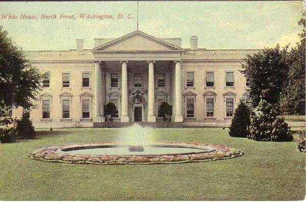 White House North Front Washington District of Columbia