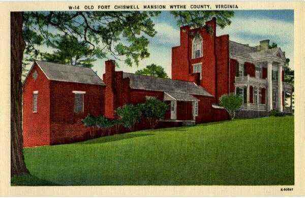 Best Universities In Virginia >> Old Fort Chiswell Mansion Wythe County, VA