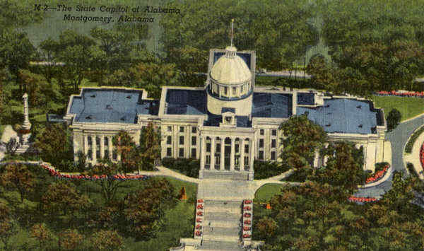 The State Capitol of Alabama Montgomery