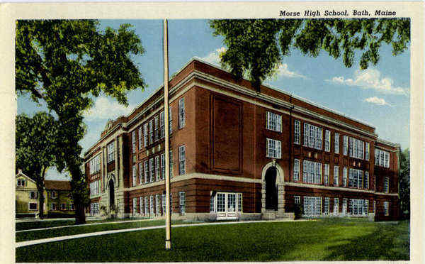 Morse High Schoole Bath Maine