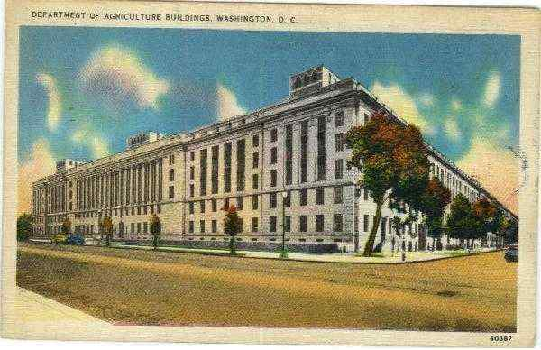 Department of Agriculture Buildings Washington District of Columbia