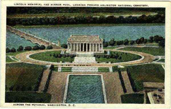 Lincoln Memorial and Mirror Pool Washington District of Columbia
