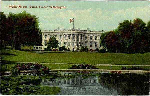 White House (South Front) Washington District of Columbia