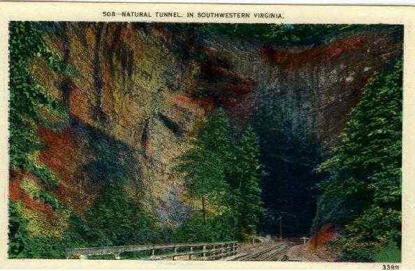 Natural Tunnel in Southwestern Virginia Gate City