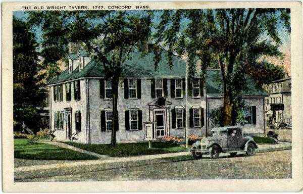 The Old Wright Tavern 1747 Concord Massachusetts